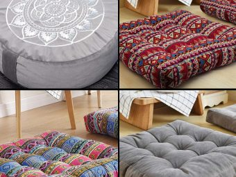 Cozy Up With The 11 Best Floor Pillows Of 2021!