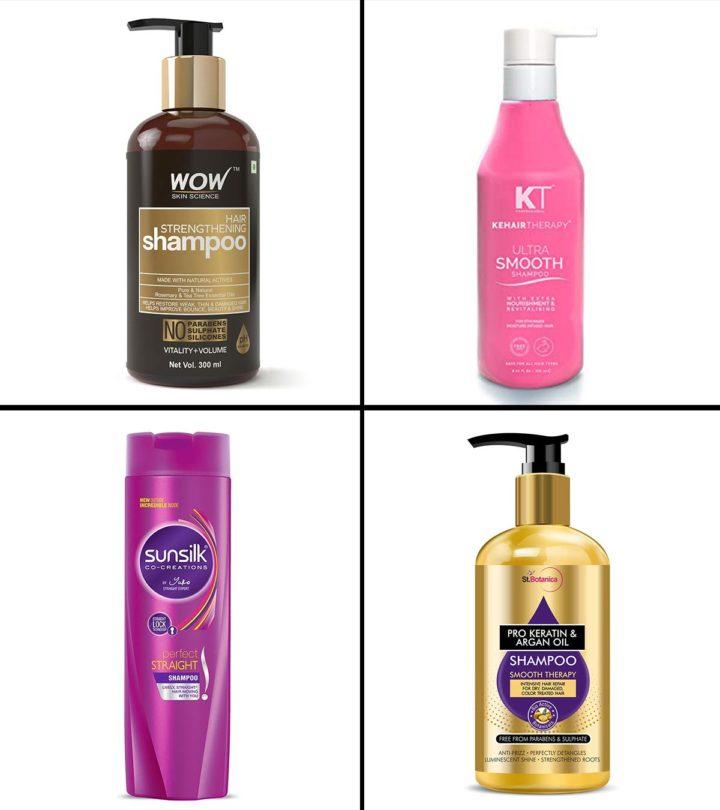 11 Best Hair Straightening Shampoos In India In 2021
