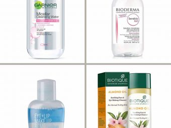 13 Best Makeup Removers In India- 2021