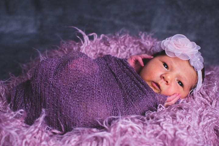 35 Best Baby Names That Mean Purple Or Violet
