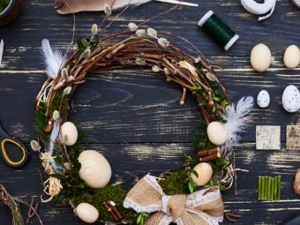 5 Adorable Easter Front Door Wreaths