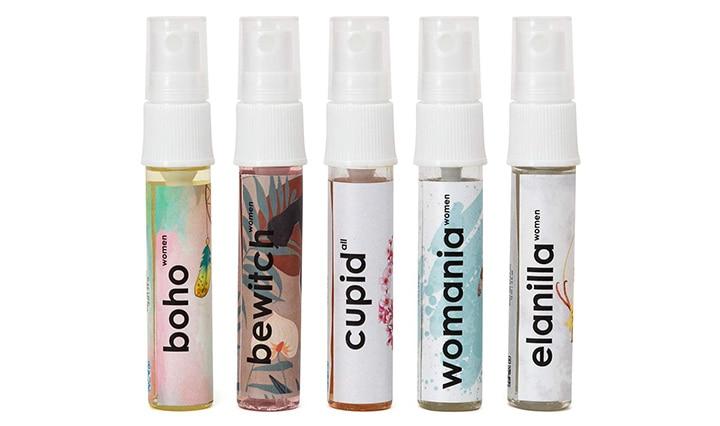 Adiveda Natural Perfume Trial Set For Women