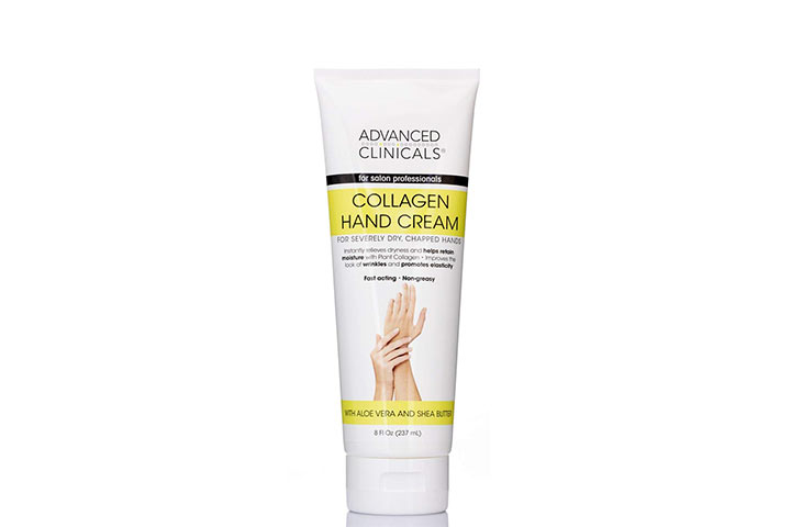 Advanced Clinicals Collagen Hand Cream