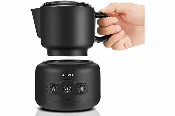 Aevo Detachable Automatic Electric Milk Frother Machine