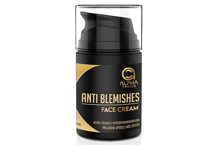 Alpha Choice Anti Blemishes Face Cream For Acne, Scars And Pigmentation