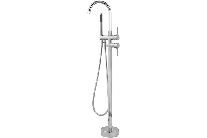 Aolemi Floor Mount Bathtub Faucet