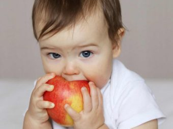 शिशु के लिए सेब के स्वास्थ्य लाभ व आसान रेसिपीज | Apple For Babies In Hindi