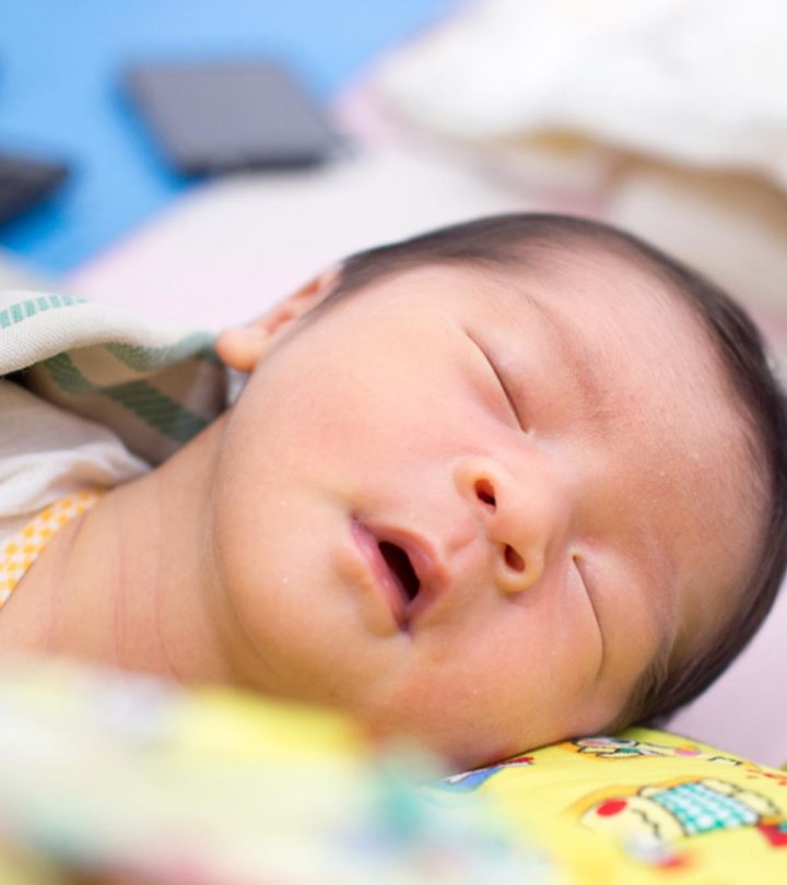Baby Sleeps With Mouth Open In Hindi
