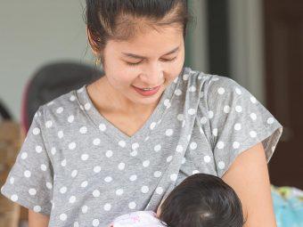 बच्चे को दूध पीते समय पसीना आना: कारण व कम करने के उपाय | Baby Sweating During Breastfeeding In Hindi