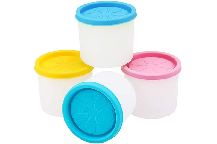 Beasea Ice Cream Freezer Containers