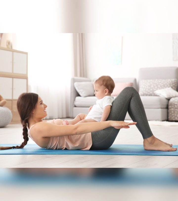 Best Yoga Poses For Breastfeeding Mothers