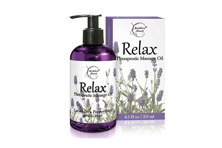 Brookethorne Naturals Relax Therapeutic Massage Oil-1