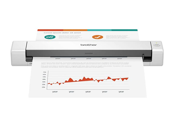 Brother DS-640 Mobile Document Scanner