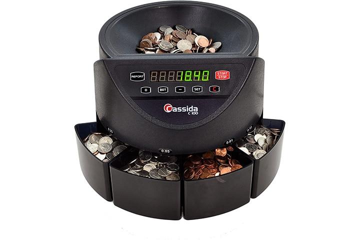Cassida C100 Electronic Coin Sorter