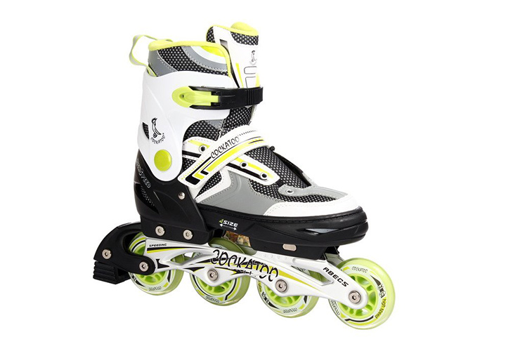 Cockatoo Inline Skates With Aluminum Chassis