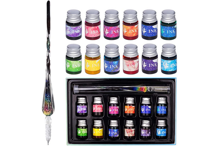 Codace Glass Dip Pen Ink Set