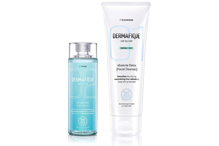 Dermafique Cell By Cell Toner And Cleanser