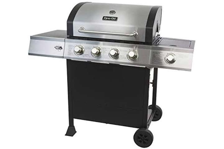 Dyna-Glo 4 Burner Propane Gas Grill