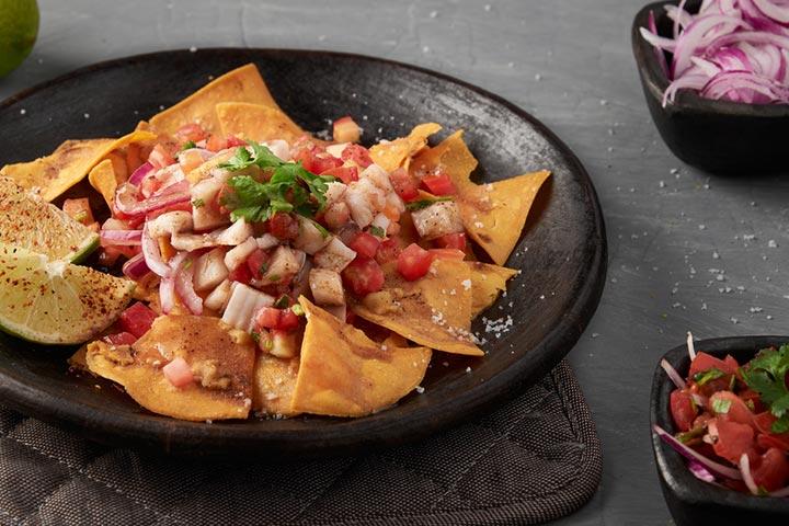 Easy-peasy tuna nachos