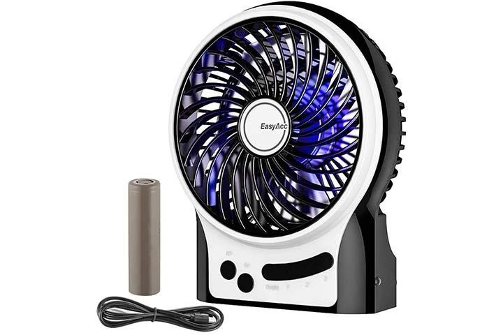 EasyAcc Battery Fan