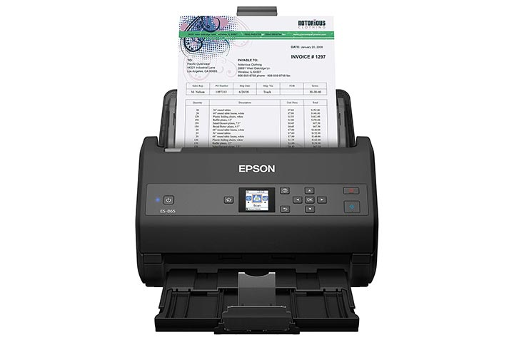 Epson Workforce ES-865 Duplex Document Scanner