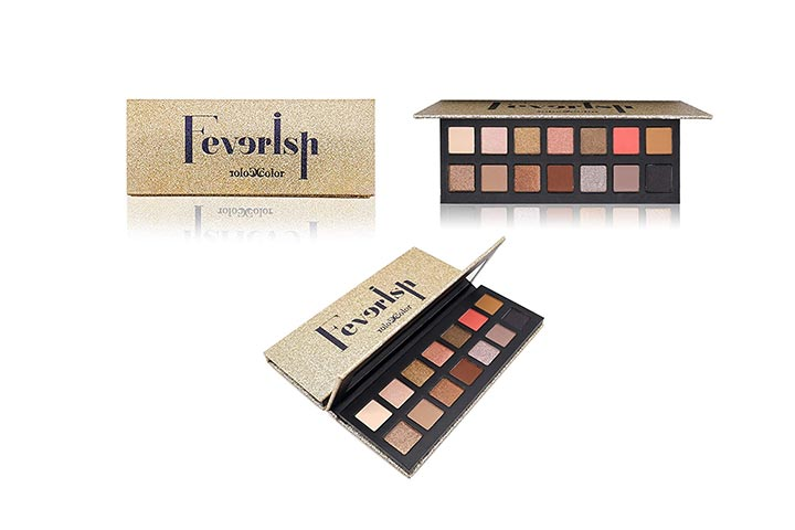 Feverish 14 Color Neutral Cool Tone Eyeshadow Palette
