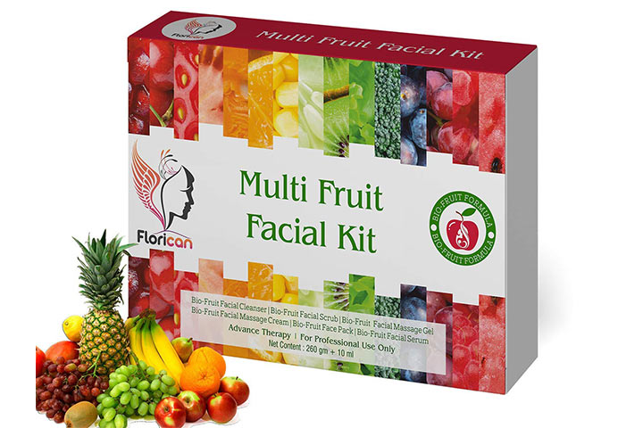 Florican Multi Fruit Facial Kit