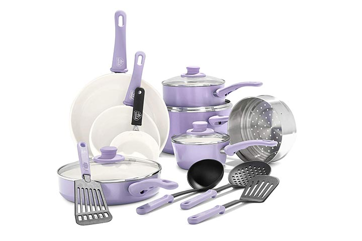 GreenLife Ceramic Nonstick Cookware Set
