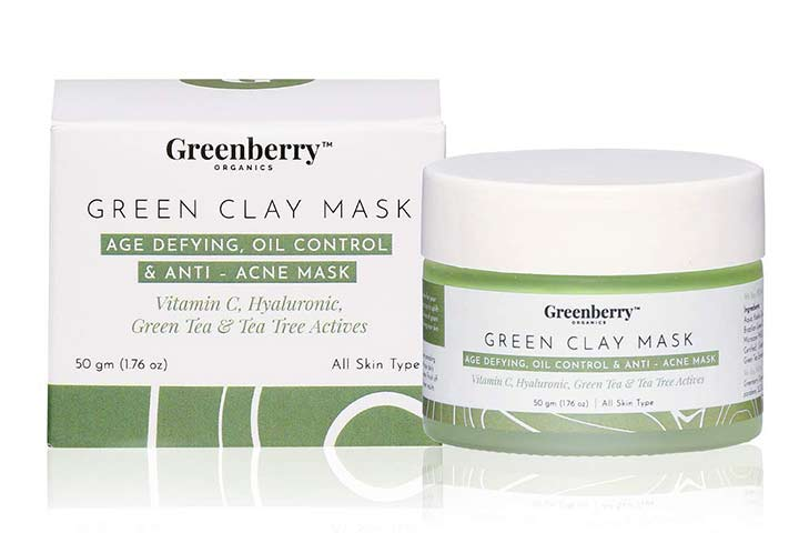 Greenberry Green Clay Mask