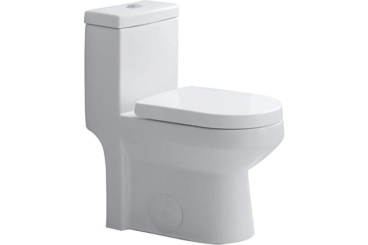 HOROW Dual Flush One-Piece Toilet