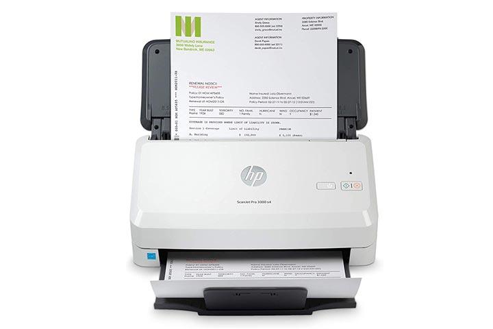 HP ScanJet Pro 3000 S4 Sheet-Fed Scanner