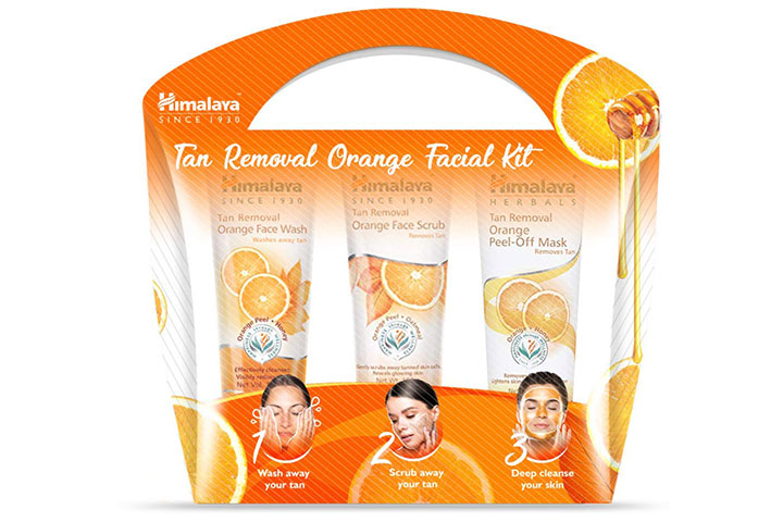 Himalaya Tan Removal Orange Facial Kit