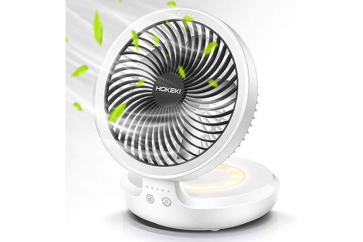 Hokeki Wireless Desk Fan