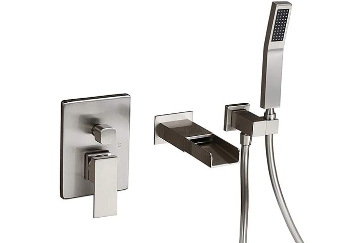 Homary Wall-Mounted Tub Faucet