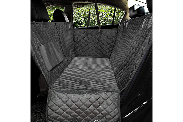 Honest Outfitters Luxury Quilted Dog Car Seat Cover