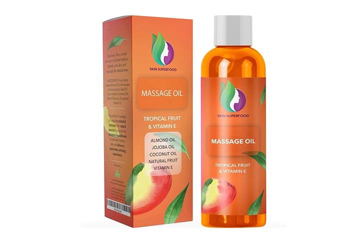 HoneyDew Skin Superfood Massage Oil
