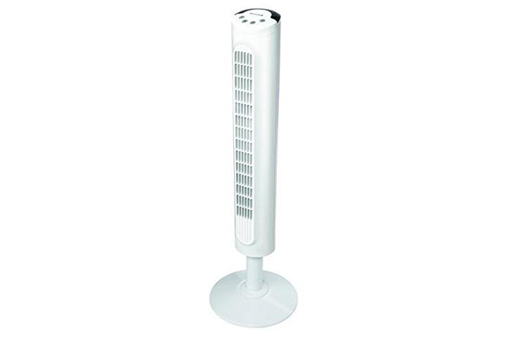 Honeywell White Comfort Control Tower Fan