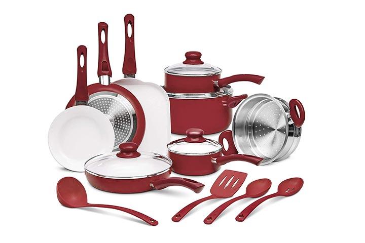 Ivation 16-piece Nonstick Cookware Set