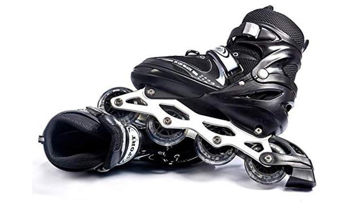 Jumix 2020 Kids Size Adjustable Professional Inline Skate Shoes