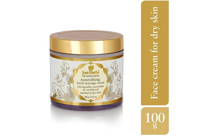 Just Herbs Nourishing Facial Massage Cream