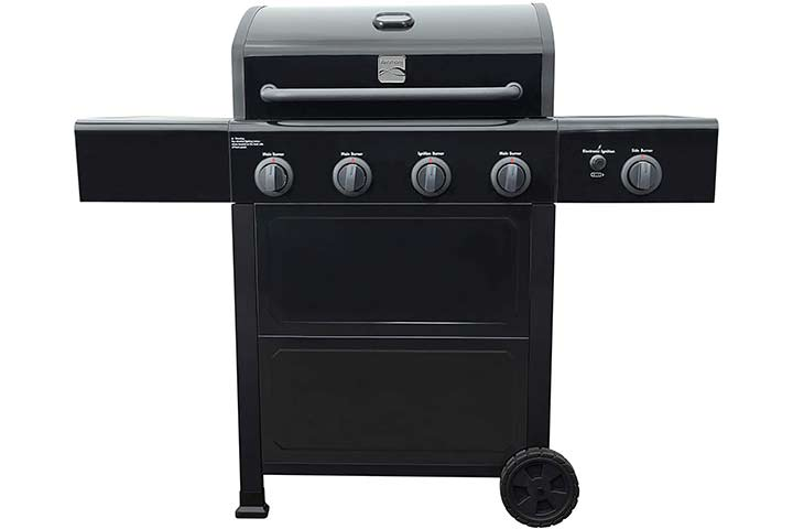 Kenmore Open Cart Grill with Side Burner