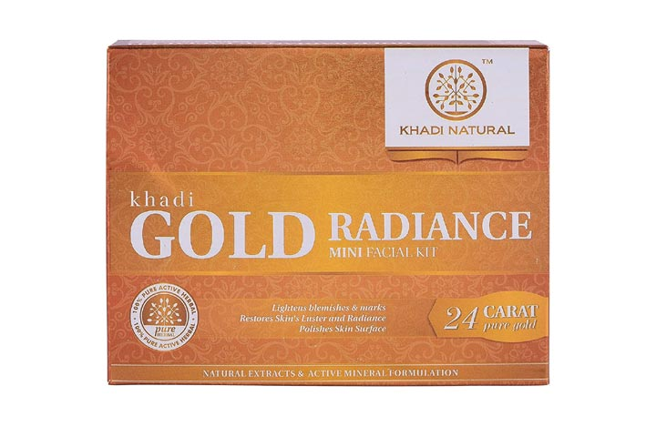 Khadi Natural Gold
