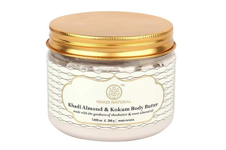 Khadi Naturals Almond and Kokum Body Butter