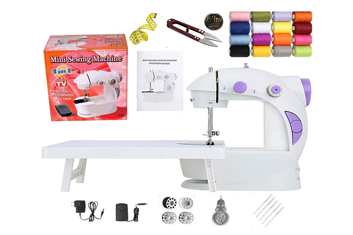 Kiwilon Sewing Machine With Table, Foot Pedal, Adapter And Sewing Kit