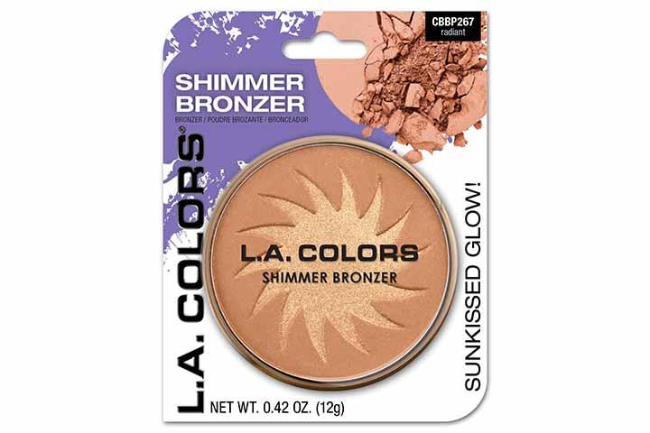 L.A. Colors Shimmer Bronzer