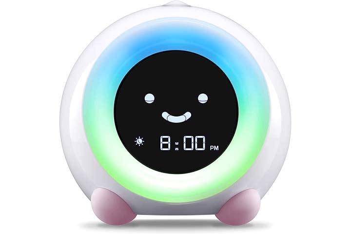 LittleHippo Mella Children's Trainer Alarm Clock