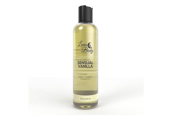Luna Body Edible Massage Oil
