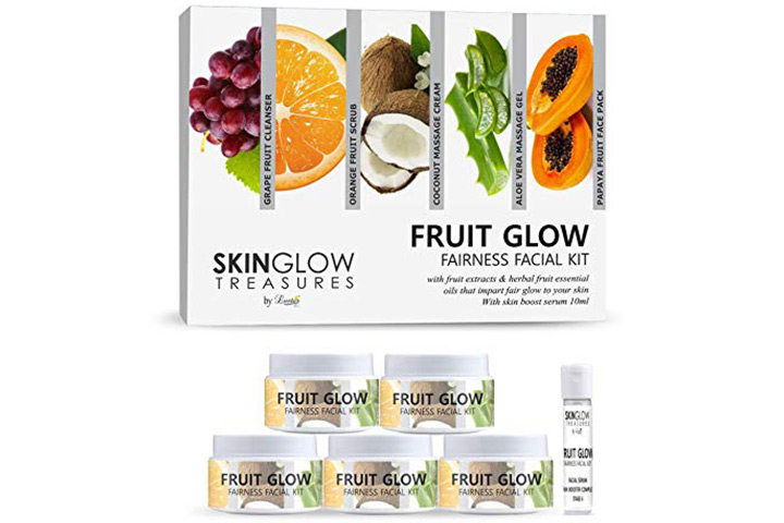 Luster Fruit Glow Fairness Facial Kit