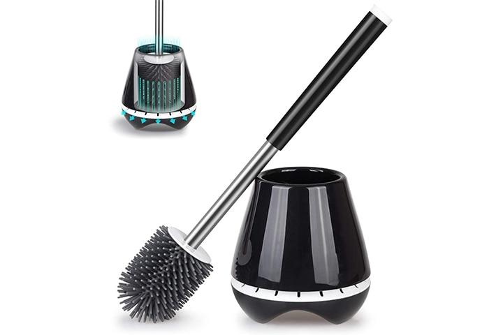 MEXERRIS Toilet Brush and Holder Set