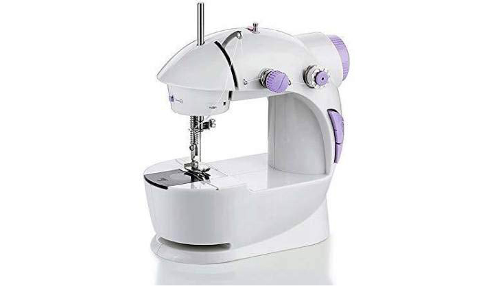 MR Group Portable Mini Sewing Machine With Extension Table